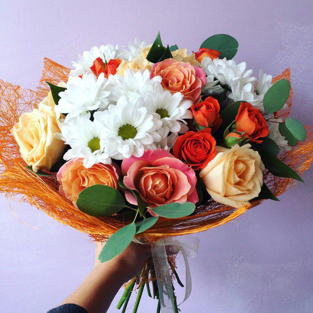 Порадовал интернет заказ цветов в улан-удэ, букет название описание